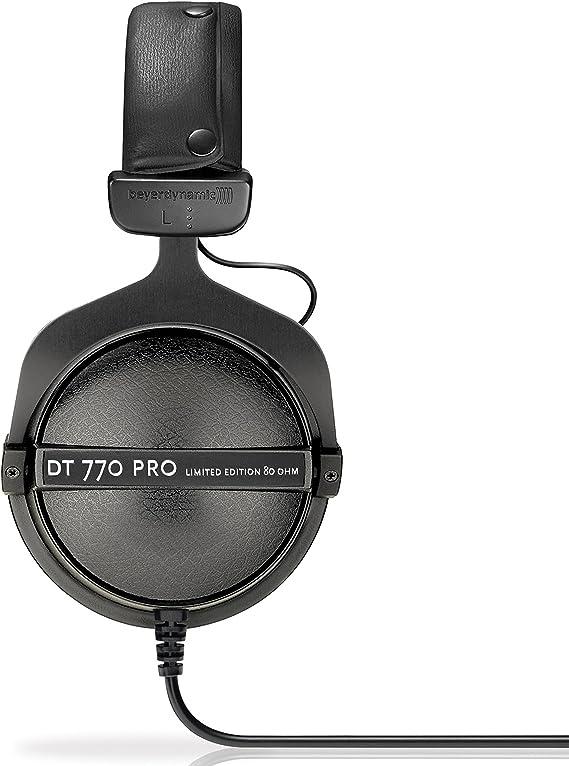 Beyer Dynamic DT 770 Pro Casque Noir Édition limitée