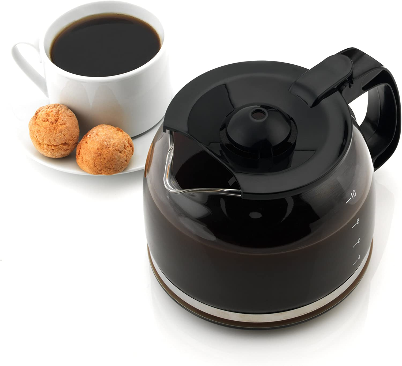 Salter ® EK2972 DECO A GOCCIA Filtro Caffettiera con funzione di tenere al caldoNero