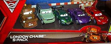 Mattel V6203 Pack 5 Coches Cars: Amazon.es: Juguetes y juegos