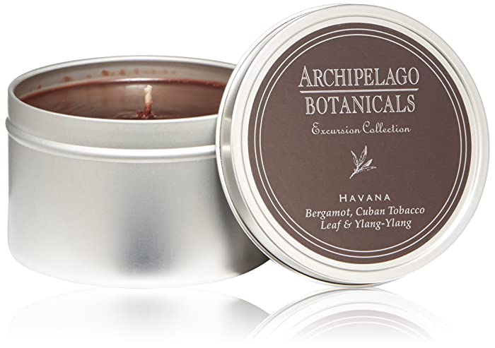 Archipelago Havana Travel Tin Candle