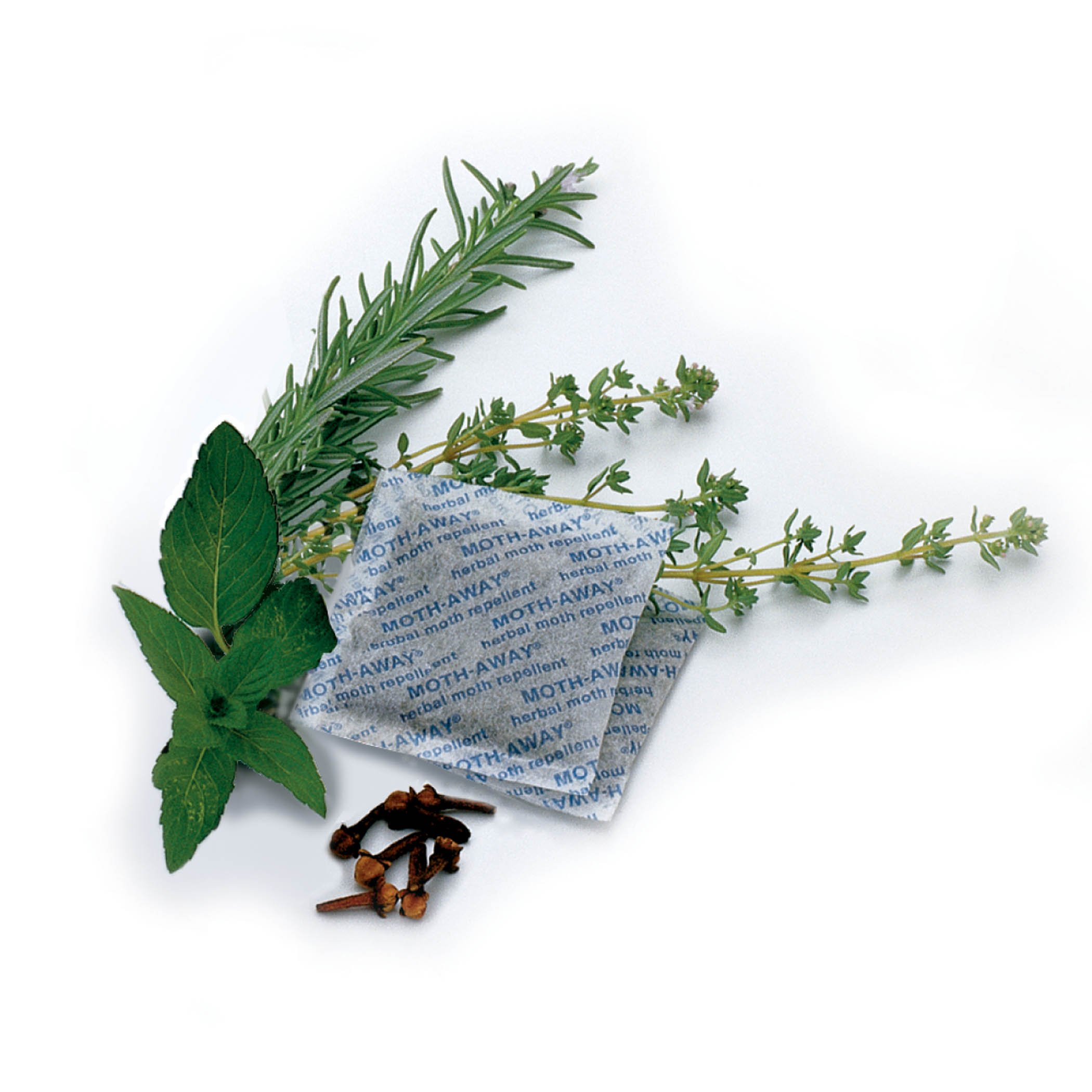 Safe HERBAL Moth AWAY repellent NON toxic NATURAL/24 Sachets