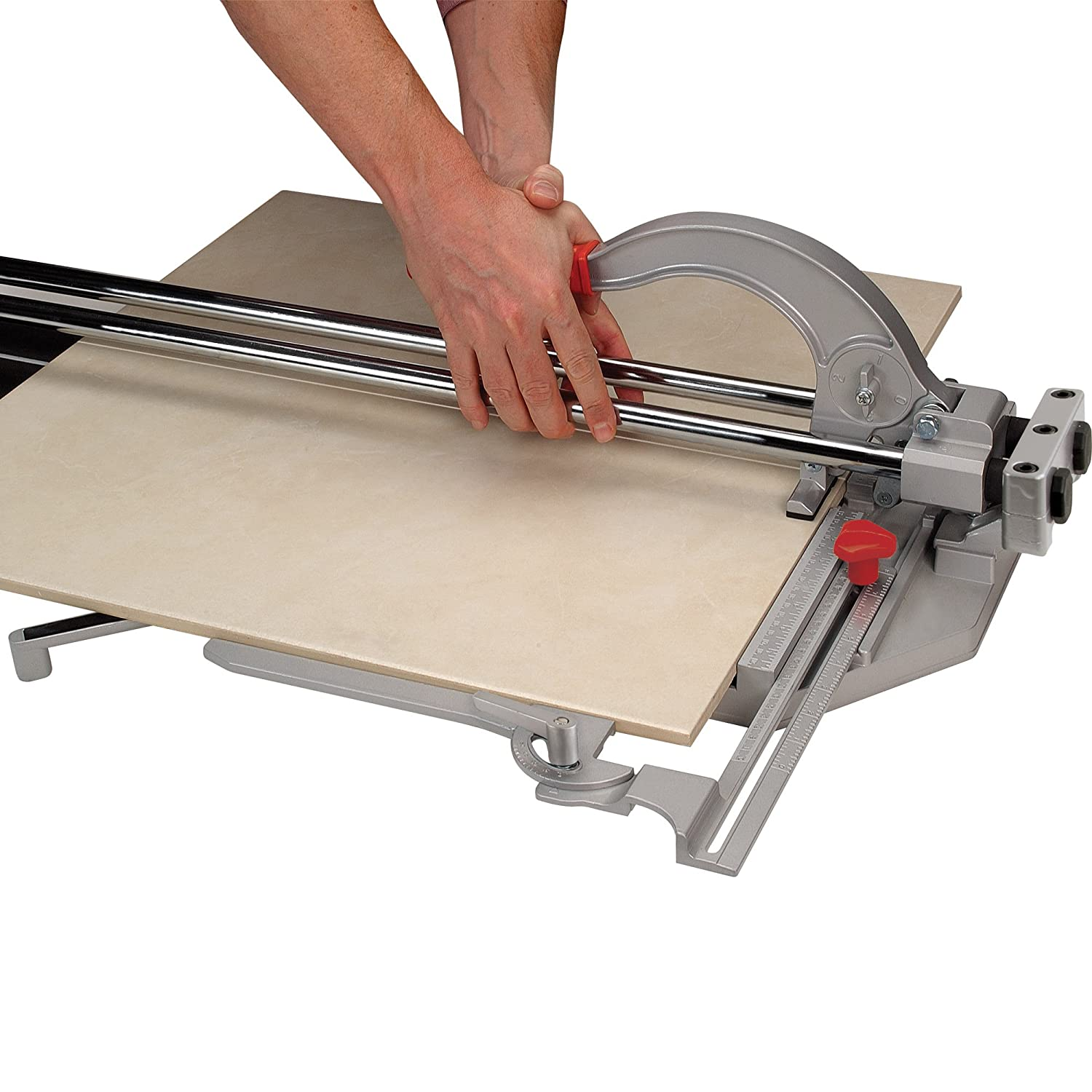Brutus 10600br 24 inch rip and 18 inch diagonal pro porcelain tile brutus 10600br 24 inch rip and 18 inch diagonal pro porcelain tile cutter with 78 inch cutting wheel amazon dailygadgetfo Gallery