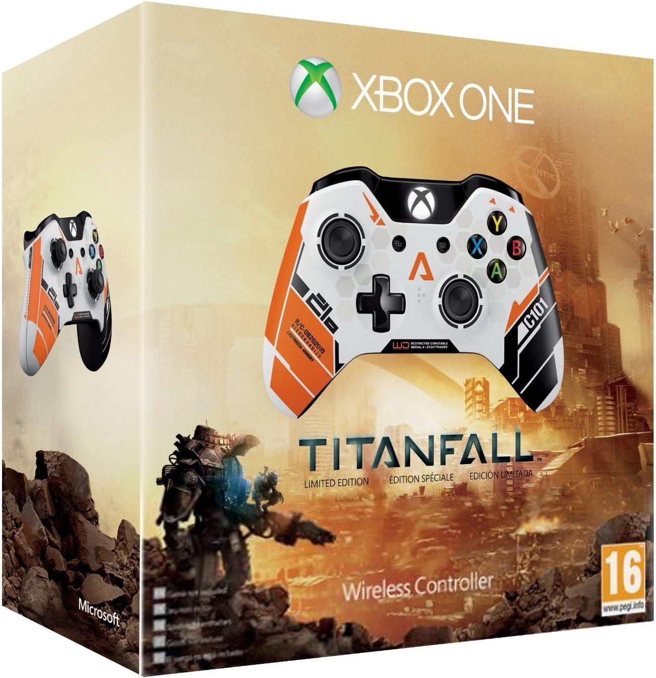 Microsoft - Mando Wireless - Edición Limitada Titanfall (Xbox One ...