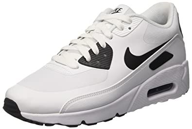 df23405fe5330 Nike Mens Air Max 90 Ultra 2.0 Flyknit, WHITE/WHITE-PURE PLATINUM,