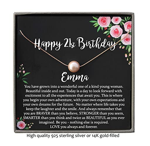 Image Unavailable Not Available For Color Personalized 21st Birthday Gifts Her