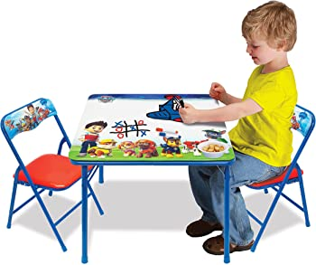 Paw Patrol Erasable Activity Table Set