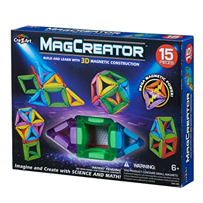 Cra-Z-Art 83 Piece RC MagCreator Set: Toys & Games
