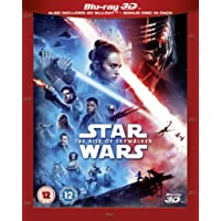Star Wars: The Rise of Skywalker 3D + 2D BLU RAY [Blu-ray] [2019] [Region Free]