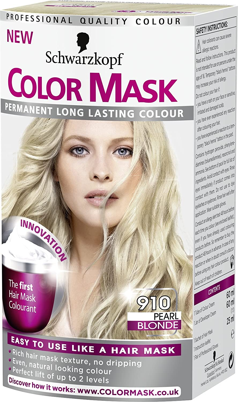Schwarzkopf color mask 910 pearl blonde permanent hair dye amazon schwarzkopf color mask 910 pearl blonde permanent hair dye amazon beauty nvjuhfo Images