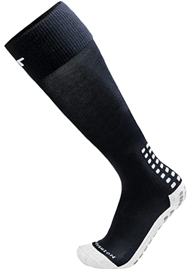 eb522ee6d TRUSOX Unisex Cushioned Over Knee High Soccer Football Socks, No Slip with  Grip Pads,