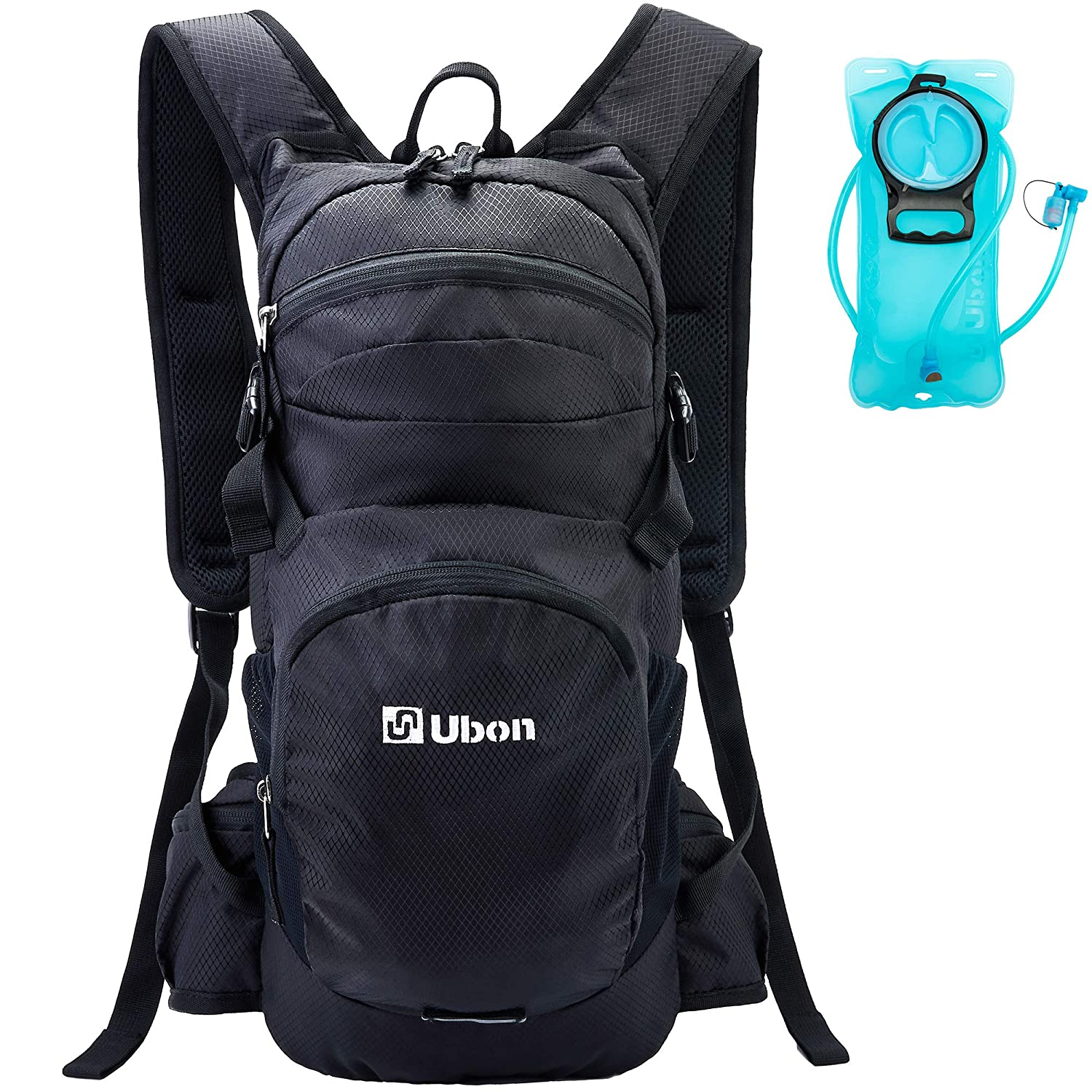 Ubon Lightweight Hiking Hydration Backpack with 2L Water Bladder