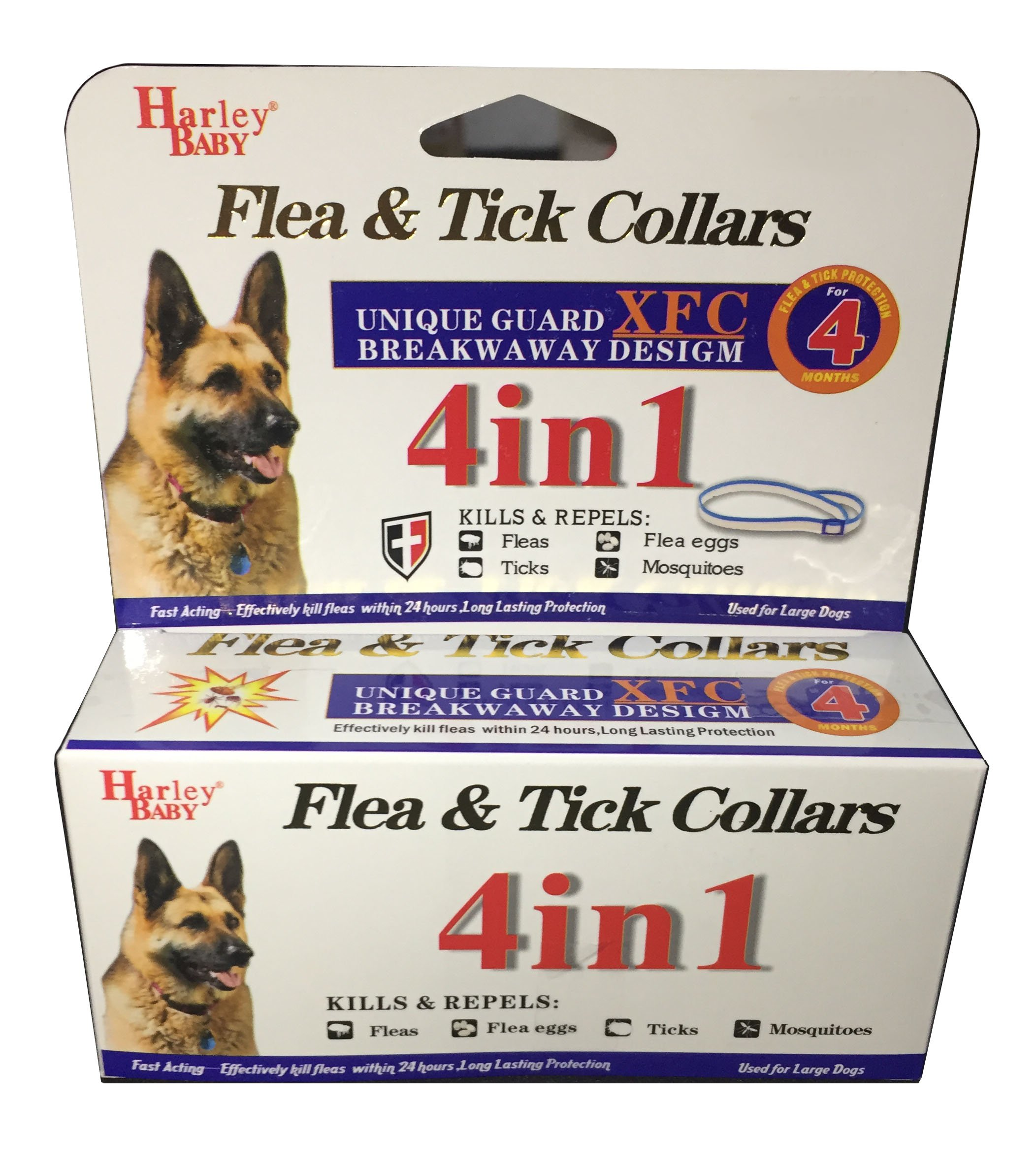 Pet Flea And Tick Collar, For Large Dog