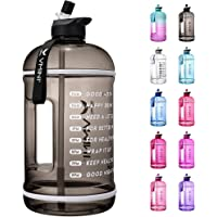 Vmini Water Bottle with Time Marker, Motivational Water Bottle & 1 Gallon Water Bottle with Time… photo