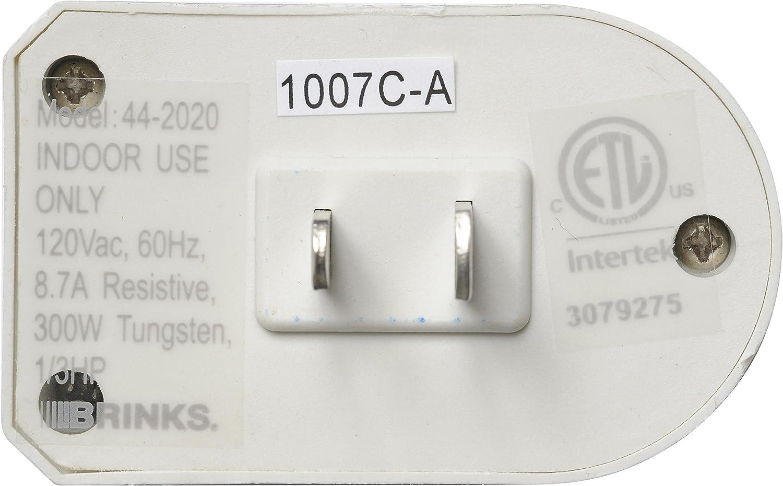 Brinks 44-2020 Indoor minuterie numérique avec arrêt automatique