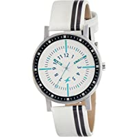 Fastrack Varsity Analog Silver Dial Women's Watch - 6172SL01