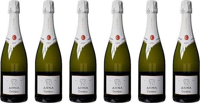 Anna Codorniu - Cava brut 0.75l (Pack de 6): Amazon.es: Alimentación y bebidas