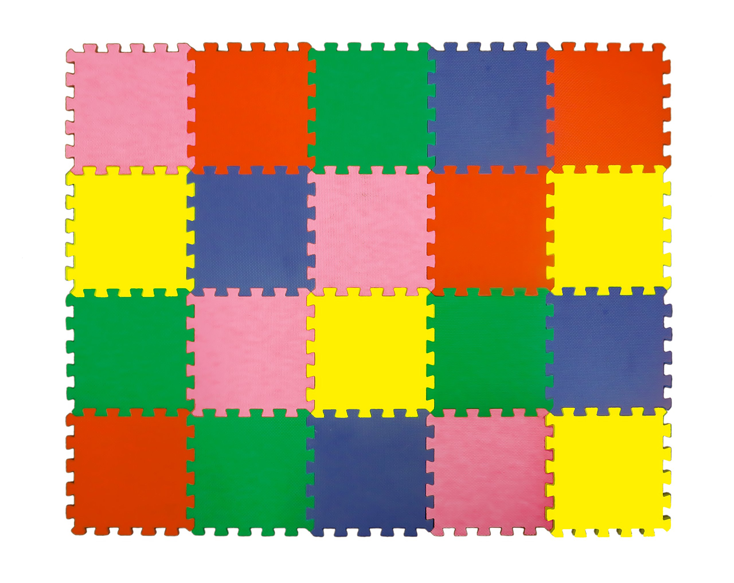 Angels Large Foam Puzzle Mats 20 Colorfull Tiles Soft