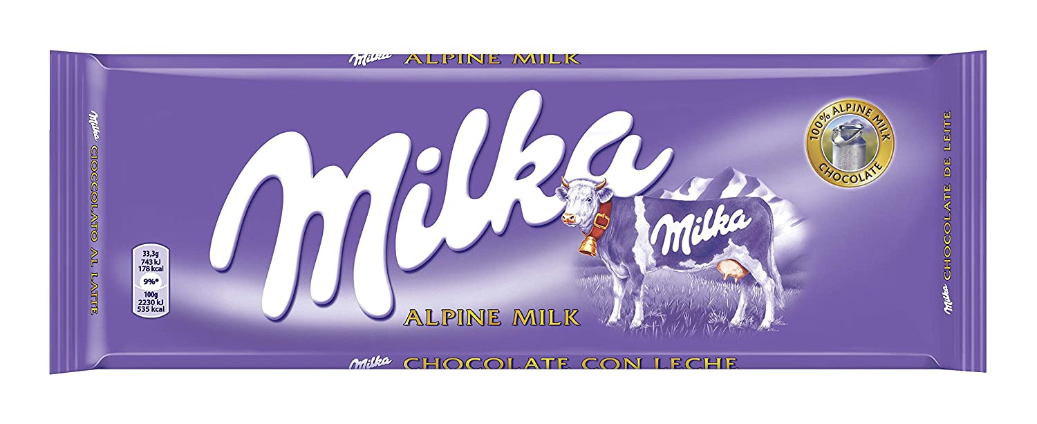 Milka - Tableta De Chocolate Leche - 300 g - [pack de 3]: Amazon.es: Alimentación y bebidas