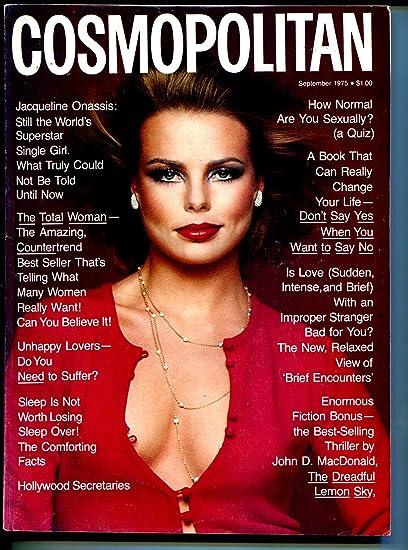 Cosmopolitan 9/1975-John D MacDonald-pulp fiction-Margaux