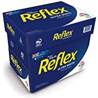 Reflex Australian Made Ink Wise Reflex Ultra White Office Copy Paper A4, 500 Sheets, Carton of 5 Packs, White, (161000)