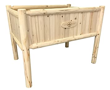 Amazon Com Boldly Growing Raised Planter Box With Legs Elevated