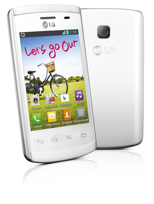 Lg E410 Optimus L1 Ii Smartphone 3 Zoll Wei Elektronik White