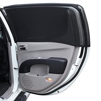 Premium Full Side Window Cover for Baby Car Sun Shade With Dual-Layer  Protection  c22f798162f