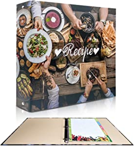rnairni Recipes Book Binder Set | 11.5