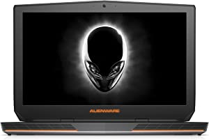 Alienware AW17R3-1675SLV 17.3-Inch FHD Laptop (6th Generation Intel Core i7, 8 GB RAM, 1 TB HDD,NVIDIA GeForce GTX 970M, Windows 10 Home), Silver (Renewed)