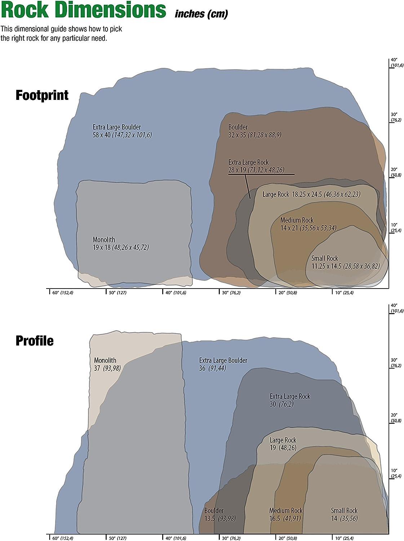 Lightweight Medium Emsco Group Landscape Rock Natural Sandstone Appearance Easy to Install