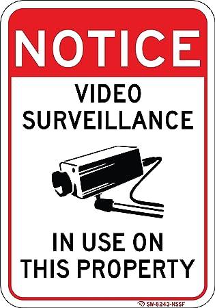 Amazon.com: Señal de vídeo en uso en la fábrica de aluminio ...