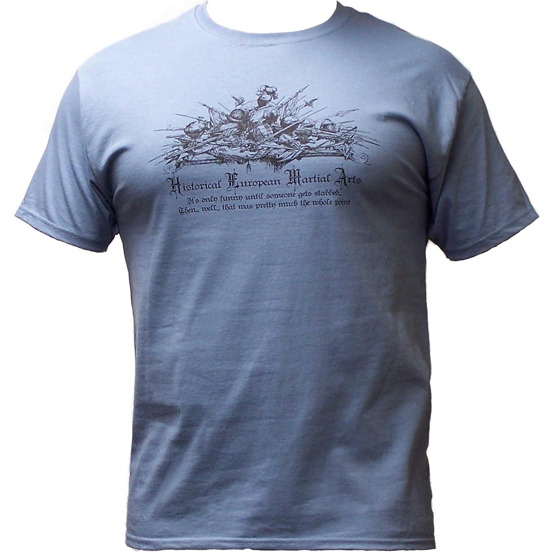 """Stabbed"" HEMA Slogan t-shirt from Piranha Gear"
