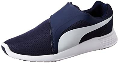 Puma Women s St Trainer Evo Ac Idp Peacoat and Puma White Running Shoes - 3  UK 0ebb38c33f