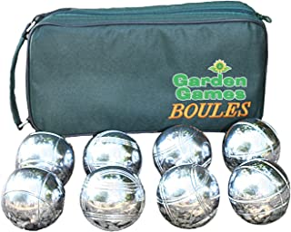 Garden Games Set de pétanque 8 Boules + Sacoche de Transport Garden Games Limited 4021