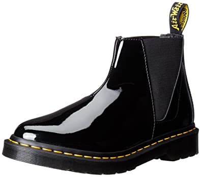buy popular 5f782 8de71 Dr.Martens Womens Bianca Black Leather Boots 8.5 US: Buy ...