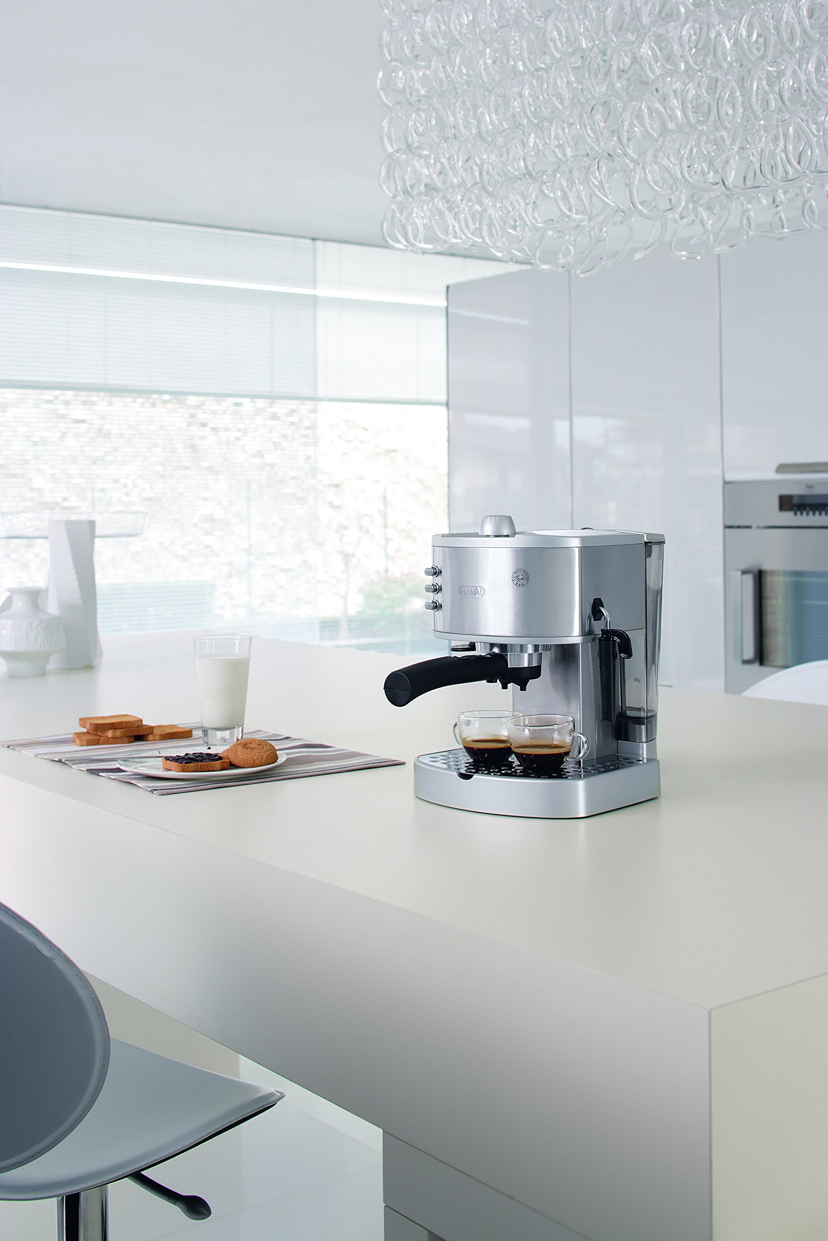 DeLonghi America EC330 Icona Collection Pump Espresso Machine, Stainless Steel by DeLonghi (Image #2)