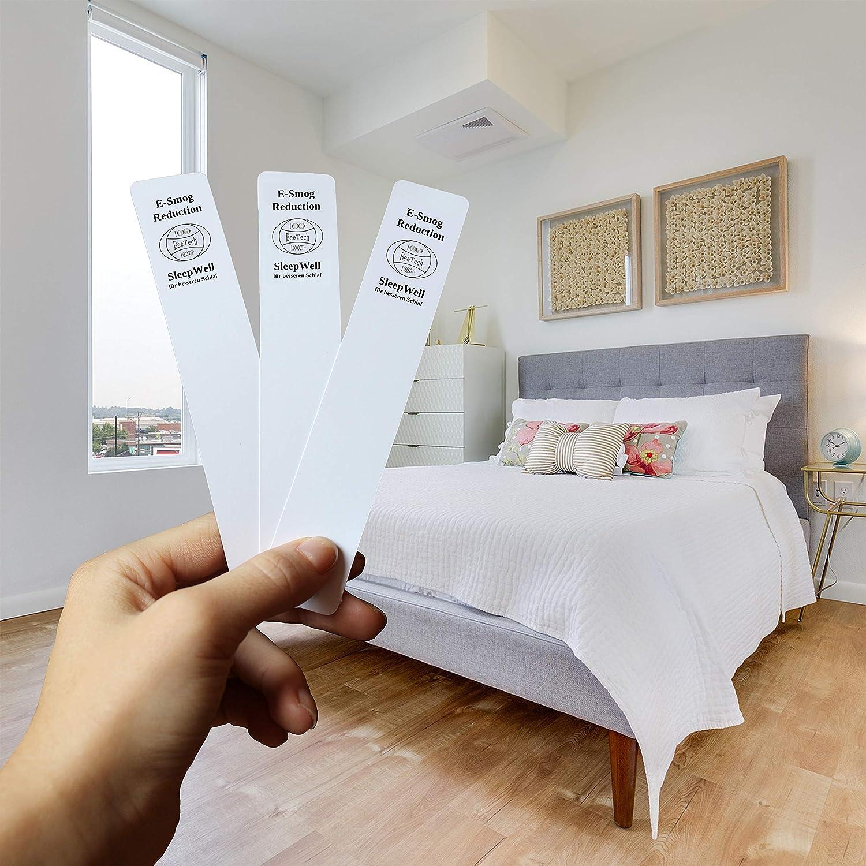 Besser Schlafen mit Elektrosmog Schutz Karte, EMF Absorption für