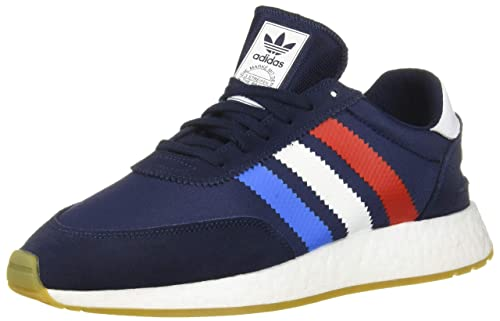 factory authentic how to buy best cheap adidas Originals Men's I-5923 Shoe, Collegiate Navy/Active red/True Blue, 4  M US