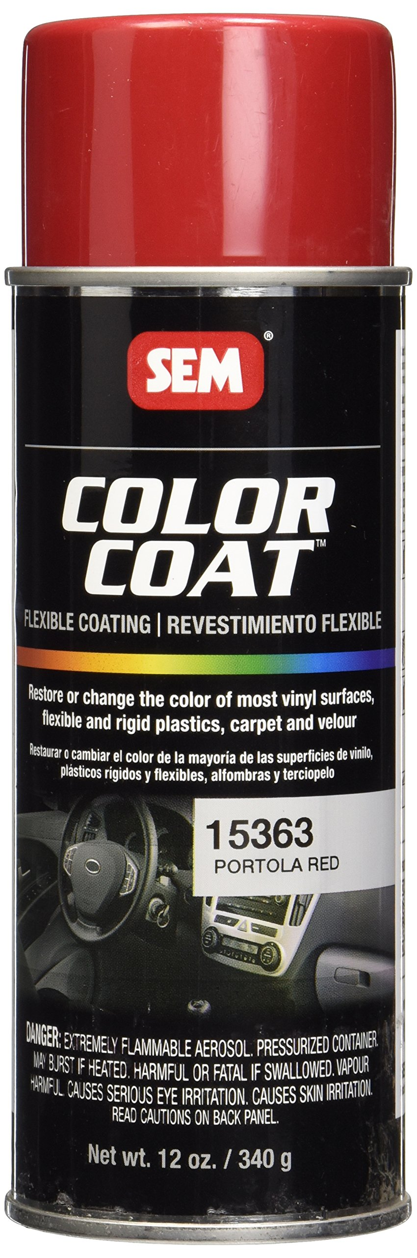 SEM 15363 Portola Red Color Coat - 12 fl. oz.