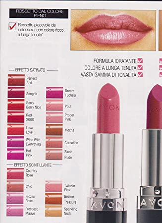 Avon True Colour Lipstick Wine With Everything Amazoncouk Beauty