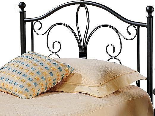 Hillsdale Furniture Hillsdale Milwaukee Bed Frame Twin Headboard Antique  Brown