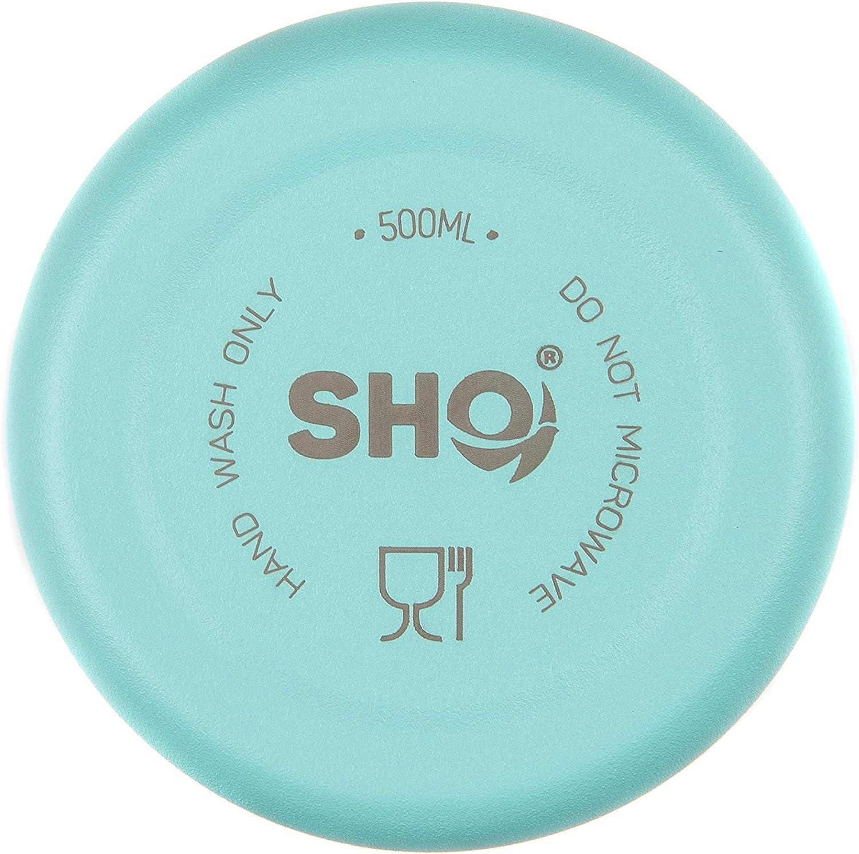 SHO Bottle Sin BPA Garant/ía de Vida Botella /Última Aislada por Vac/ío de Doble Pared de Acero Inoxidable Botella de Agua y Vaso 12 Horas Caliente /& 24 Fr/ía