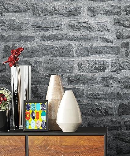 Newroom Papier Peint Motif Mur De Briques Papier Peint Au Design 3d
