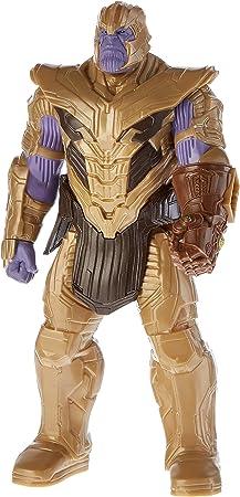 Figura deluxe de avengers,Diseño atractivo,Inspirada en la película,Figura del súper héroe Thanos,Es