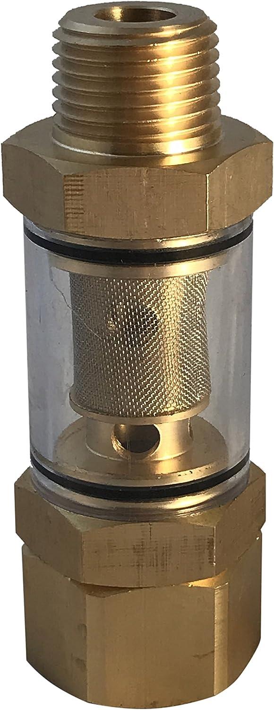 JOYJOB Inline Hose Water Filter Sediment for Pressure Washer Pump Garden Hose#68