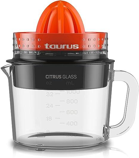 Taurus Citrus Glass Exprimidor, Rotación de Doble Sentido, 30 W, 1 ...