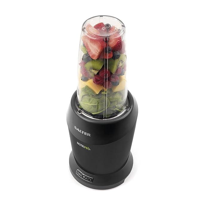 Nutri Pro 1000 Deluxe extra Blender - Nueva 1000w - Único HOJA DE NUTRIENTES EXTRACTOR - Titular de la forma de la bala - Vegetales / Fruta Smoothie Maker ...