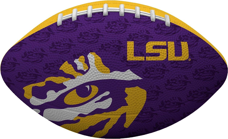 NCAA ジュニアサイズフットボール すべてのチームのオプションあり LSU Tigers