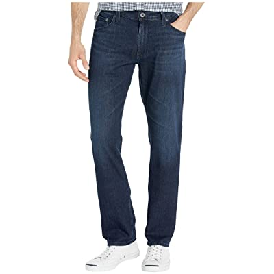 AG Adriano Goldschmied Everett Slim Straight Leg Jeans in Livid Sea Livid Sea 33: Clothing
