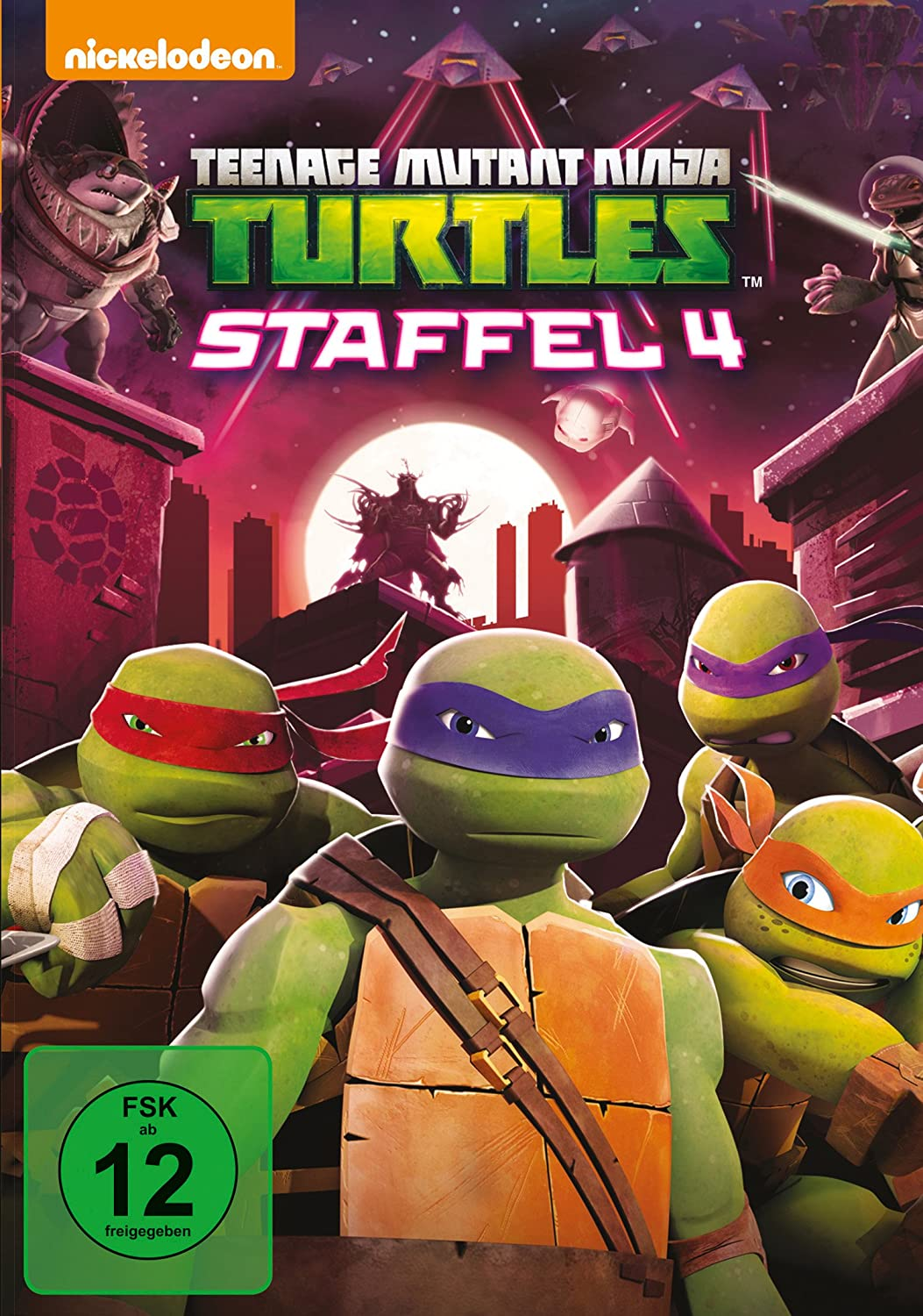 Teenage Mutant Ninja Turtles - Season 4 Alemania DVD: Amazon ...